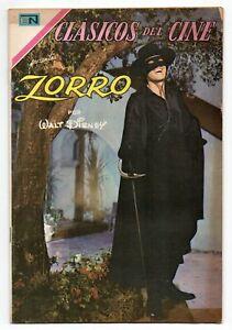 CLASICOS del CINE #199 Zorro, Novaro Mexican Comic 1969