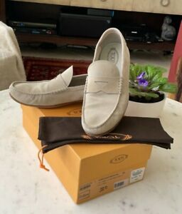 Tod's men's pre-owned suede shoes in excellent condition size 11 D