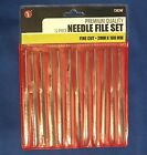 Model Horse Hobby 12 Piece MINI NEEDLE FILE SET for Prep Work - 4 Inches long