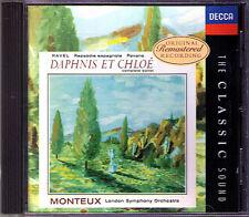 Pierre MONTEUX: RAVEL Daphnis et Chloe Rapsodie espagole CD Decca Classic Sound
