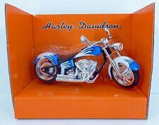 Metal Maxx Harley Davidson FLSTF Fat Boy Die Cast Bike