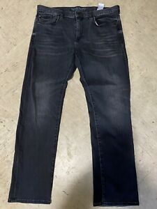 banana republic the luxe traveler mens  jeans gray 34 x 30 👖slim Fit