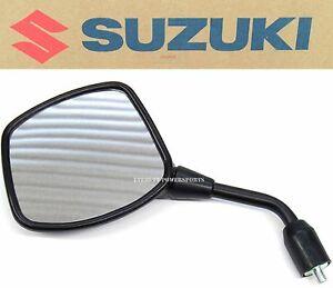 New Genuine Suzuki Left Mirror Assy 02-12 DL1000 , 04-11 DL650/A V-Strom #T181