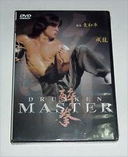 """Jackie Chan """"Drunken Master"""" Yuen Wo-Ping RARE HK 1978 Remastered OOP DVD"""