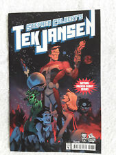 2007 Oni Press STEPHEN COLBERT'S TEK JANSEN #1 SECOND PRINTING! VF+