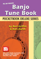 "MEL BAY PRESENTS ""Banjo Tune Book"" Pocketbook Deluxe Series-MUSIC BOOK-NEW-SALE!"
