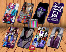 Prince Purple Rain for Leather Flip iPhone And Samsung Wallet Case Cover
