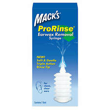 Macks(Mack's) Pro-Rinse Ear Wax Removal Syringe