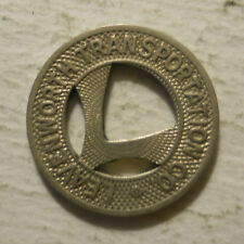 Leavenworth Transportation Company (Kansas) transit token - KS550C