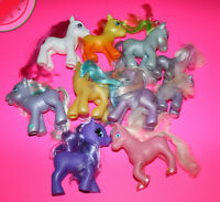 Custom MY LITTLE PONY Hasbro G3 As-Is Lot of 8 TLC Flawed for Restoration Crafty