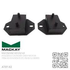 MACKAY ENGINE MOUNT KIT 6 CYL 132 & 138 GREY MOTOR [HOLDEN FE-FC-FB-EK-EJ]
