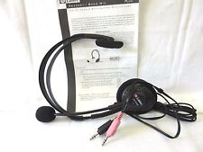 LABTEC HEADSET/BOOM MIC LVA-8420, FOR PC SPEECH RECOGNITION APPLIC...VERSIO