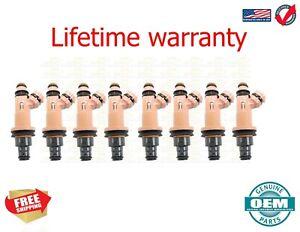 X8 OEM Denso Fuel Injectors  LEXUS GS430 2001-2007  4.3 23250-50030