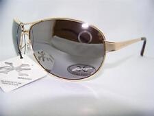 Xloop Spring Hinge/Temple Aviator Sunglasses,Pilot,Shades,Cop,Gold,Item# 234 C