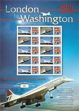 2006 Concorde London to Washington Business Smilers Sheet - Bc.207 - Mnh.