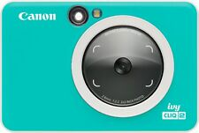 Canon - Ivy CLIQ2 Instant Film Camera - Turquoise