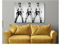 Elvis Presley - Andy Warhol Canvas Wall Art Print - Various Sizes