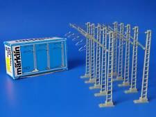 MARKLIN H0 - 7009 - 10x Catenary Mast // BOX - LN