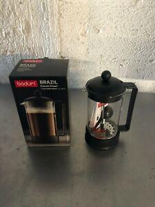 BODUM BRAZIL FRENCH PRESS 8 CUP COFFEE MAKER N0. 1548 1.0 L / 34 FL. OZ