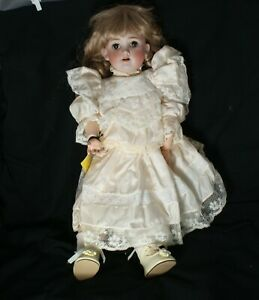 Antique German Kley Hahn Walkure Ball-Jointed Bisque Doll 250 02/3 Early 1900's