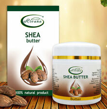 Shea butter - 100% pure oil product : natural face body moisturizer , 55 ml.