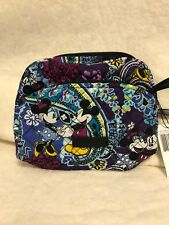 NWT Vera Bradley Disney Mickey's Paisley Celebration Iconic Medium Cosmetic Case