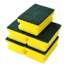5Pcs Washing Sponge Brush Sided Cleaning Dish Kitchen Tools Wipe Scouring Gadget