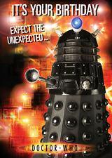Doctor Who Dalek Birthday Sound Card Free 1st Class Postage (sc117)