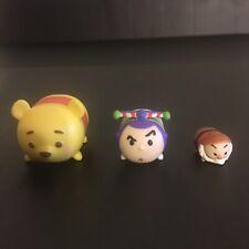 Disney Tsum Tsum 3 Piece Set Winnie, Buzz, & Grumpy Series 2 Free Shipping