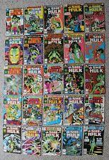 Savage SHE-HULK 1980-1982 Origin 1st Jennifer Walters Marvel TV SERIES #1-25 VF
