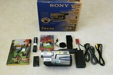 Brand New Sony Handycam Ccd-Trv98 8mm Hi8 Video Camcorder Player Camera