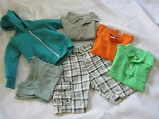 Boys Kids Clothing Lot Size 2-4, 6 Piece Wardrobe Shorts & Tops H & M, Crewcuts