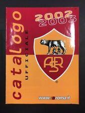 AS ROMA CATALOGO UFFICIALE 2002/2003