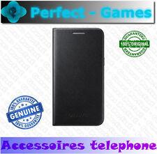 Samsung galaxy J1 original genuine Etui housse coque case FLIP COVER noir Black