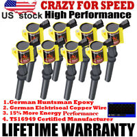 New DG508 Spark Plug SP479 Ignition Coil 8 Pack For Ford F150 F250 F550 4.6/5.4L