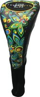 """LoudMouth """"Shagadelic """"Black"""" Driver Golf Head cover"""