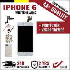AA+ LCD SCREEN SCHERM ÉCRAN ASSEMBLY WHITE BLANC + VERRE TREMPÉ FOR IPHONE 6