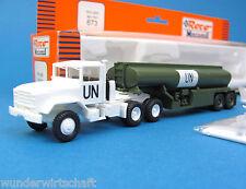 Roco Minitanks H0 673 M931 M969 A1 UN Tank-Sattelzug US Army UNO HO 1:87 OVP