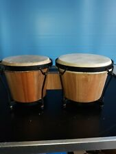 More details for wooden bongo set got from house clearance