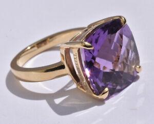 Tiffany & Co Sparklers Amethyst Ring 18k