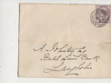 Langholm [B] Scottish Postmark 20 Nov 1889 QV Cover to A Johnstone 580b