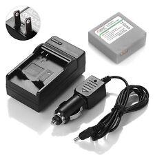 Camcorder IA-BP85ST Battery For Samsung SC-HMX10 SC-MX10 MX20 VP-HMX10 + Charger