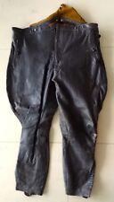 Originale braune LA Breeches Lederhose für Kraftfahreinheit Hersteller -selten !
