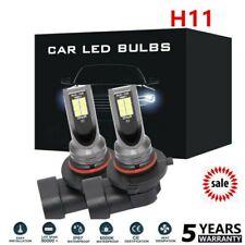2pcs H11 LED Headlight Kits 110W 20000LM FOG Light Bulb 6000K Driving DRL Lamp &