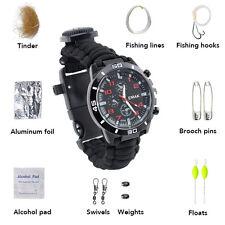 Survival Outdoor Camping Überleben Armband Para Armband Parachute Cord Bracelet