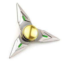 Tri Hand Spinner Finger Fidget Triangle Metal Focus ADHD Autism Kids Adult Toy