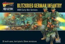 Blitzkrieg Perno de Infantería alemana acción Warlord Games 28mm Sd