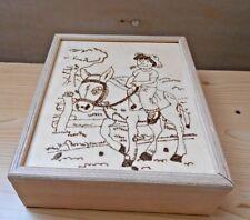 Handgefertigtes Eselspiel aus Holz