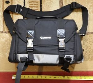 Near mint! Canon 200DG Deluxe Bag Digital Camera Large Carrying Case Black