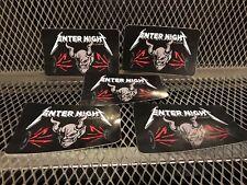 LOT of 5 ~ STONE BREWING METALLICA Enter Night Pilsner Beer Collab Sticker